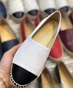 Hot Sell 2020 Handwork Womens Espadrilles Fisherman Sheep Canvas Leather Shoe Casual Womens Sneakers Ladies Flat Slip-On Dress Shoes 35-42