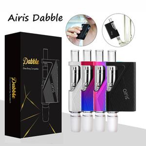Originale Airis Dabble E Cigarette Kit cera vaporizzatore di vetro Bong compatibile Quartz Coil Dip Dab Vape Pen 900mAh VV Batteria
