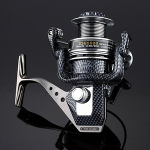 Spool Fish Reel 12+1BB Ball Bearings Spinning Fishing Reel Reels Speed Gear SSG 1000 2000 3000 4000 5000 6000 7000