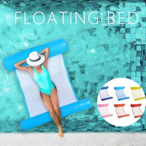 Gonfiabile Amaca dell'acqua Galleggiare Bed Sdraio Drifter Piscina Beach Float Cuscino Bed Lounge Chair materasso Hammock