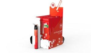 Nuovo VAPORLAX MATE monouso Pods dispositivo starter kit 500mAh Batteria 800 sbuffi 3ml Pod Vape Pen Vaporlax Mate e-cig vaporizzatori 18 colori