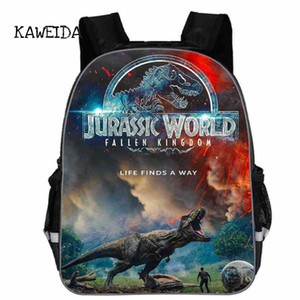 KWD مدرسة حقائب الظهر المدرسية للأطفال مع الآمن عاكس حزام بنين Daypack حقيبة الديناصورات مطبوعة الظهر 2018