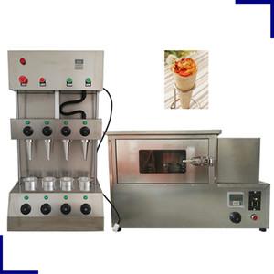 Yeni Elektrik Whosesale Ticari Paslanmaz Çelik Pizza Koni Kalıp Makine / Fırın Machine ile Pizza Koni Maker