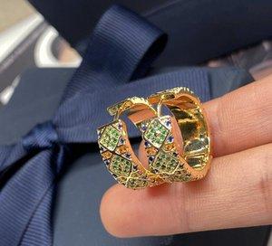 rayas pequeño círculo retro estilo étnico tribal colorido patrón geométrico colorido pendiente de diamantes de imitación