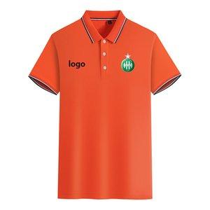 ASSE 2020 весной и летом новый хлопок футбол рубашка поло мужская с коротким рукавом отворот сплошной цвет Polo может быть DIY обычай мужской Polo