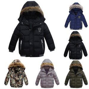 Baby Boys Jacket 2019 Autumn Winter Jacket For Boys Children Jacket Kids Hooded Warm Outerwear Coat For Boy Clothes