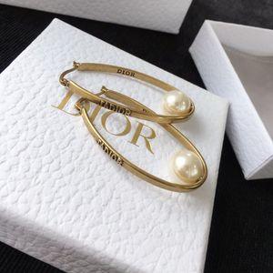 simples clásico y letras salvajes llena de diamantes joyería de las mujeres diseñador pendientes pendientes de lujo de diseño con caja r25