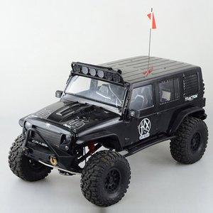 1Pcs Модель антенны L29cm Моделирование сигнала линии с флагом Для TRX4 RC Climbing украшения автомобиля аксессуары Запчасти