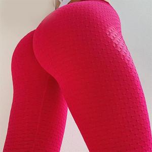 LAISIYI красные леггинсы женщины полиэстер лодыжки эластичные леггинсы Высокая Талия Push Up фитнес тела скульптуры одежда Сексуальная