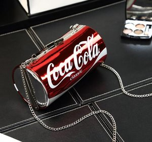 Designer Frauen Umhängetasche Luxus Handtaschen Portemonnaie Alphabet Coke Bottle-Dosen-Beutel-Art-Dame-Handtaschen-Qualitäts