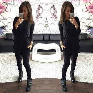 Fashion Polyester New Casual Style Womens Autumn Tracksuit Women Hoodies 2 Piece Set Hoodie Long Pants Leisure Suits Drop Shipping