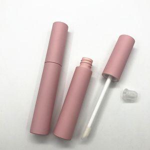 10 ml de bricolaje Rosa tubo de rímel Pestañas vacíos de tubo, tubo de brillo de labios botellas rellenables herramienta de maquillaje del envío de DHL