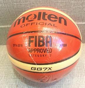 Yeni Size7 Perakende Toptan Marka Materia Ücretsiz veya GG7X PU Çanta + Net Ucuz İğne Slmgd ile Resmi Ball Basketbol Basketbol