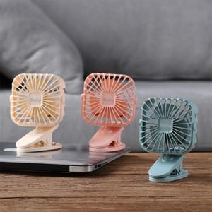 Ricaricabile Air desktop da ufficio ventilatore USB ventola di raffreddamento Desk clip dormitorio Comodini Fans Senso registrabile Fan