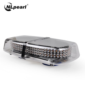 Nlpearl 자동차 등 조립 스트로브 빛 LED 바 자동차 240LED 레드 블루 조명은 비상 조명 12V 24V 경고 깜박임