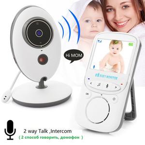 Wireless-LCD-Audio Video-Baby-Monitor VB605-Radio Nanny Musik Intercom IR 24h bewegliche Baby-Kamera Baby-Walkie Talkie Babysitter