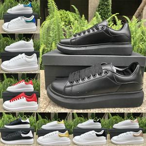Branco preto de plataforma de veludo casuais sapatos estilista Lace tênis de couro para cima das mulheres dos homens chaussures esportes da forma do partido Chaussures