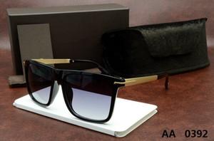 0392 occhiali da sole di nuovo modo di alta qualità per tom Uomo Donna occhiali di design di vetro di marca Sun ford