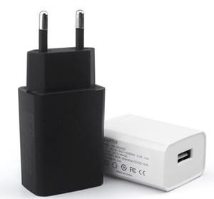 Para Carregador Rápido Xiaomi iPhone s10 Samsung Huawei USB 5V1A carregador USB QC3.0 Rápido carregador de parede Universal Power Adapter