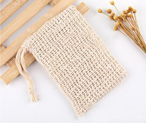 Soap Blister Mesh Double-layer Soap Net Foaming Net Easy Bubble Mesh Bag Soap Sack Saver Pouch Drawstring Holder