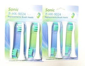HX9024 Spazzolino Sonic Teste di sostituzione con la confezione per spazzolini da denti Compatibile capi di alta qualità di vendita dei denti Oral Care Spazzole Heads