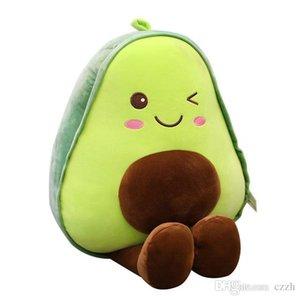 Avocado Kissen Fruchtplüschspielzeug Avocado Puppe Cartoon Nachahmung Avocado Puppe Geschenk weibliche Valentinstag Geschenke Hot Toys