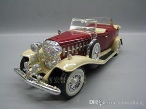 Legierung Auto-Modell Spielzeug, Cadillac 1932 Klassischer Oldtimer, Retro Wecker, Nostalgische Kunst, Party Kid 'Geburtstag' Geschenk, Sammeln, Heimdeco