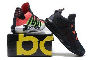 Yüksek Kalite Yeni Damian Lillard VI Dame 6 Spor Basketbol Ayakkabı Erkek Ayakkabı Acımasız Spor Spor ayakkabılar Eğitmenler Boyutu 40-46
