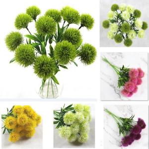 Fiori artificiali per singolo stelo Simulazione Dandelion plastica ghirlande di fiori Decorazioni di nozze Home Garden Table Centrotavola