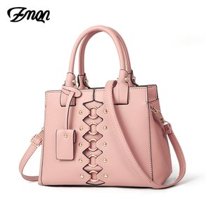 ZMQN Handbags For Women Cute Pink Luxury Shoulder Bag Leather Hand Bag Candy Solid Handbag Hgigh Quality Torebki Damskie A849