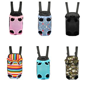 En plein air Crates Respirant Chiens Chats Mesh Cages Crate Totes Voyage Portable Pet Carrier gros sacs à dos jambes Dog 6.5