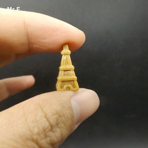 Toy Model Kid Diy Game Retro Eiffel Tower Resin Crafts Decorations Props