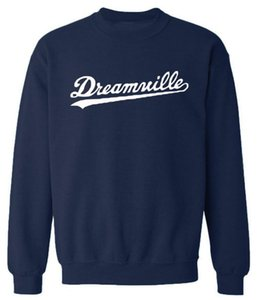 Hiphop Harajuku Hoodies Men O-neck Dreamwille Letters Designer Sweatshirts Tops Spring Pullovers