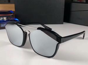 Черный Серебристый объектив Sunglasse Аннотация Женщины Vintage солнцезащитные очки Модные солнцезащитные очки Оттенки UV400 Защита очки