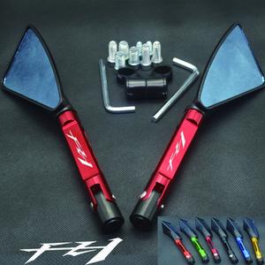 FZ1 Fazer için Universal Motosiklet ayna CNC yan Dikiz