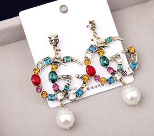 Diamant-Ohrring für Pandora Jewelry Goldrosen-Gold überzogenen Ohrstecker Frauen-Ohrringe