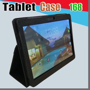 """168 2019 Leather case for 10"""" 10.1 inch Samsung N9106 MTK6572 MTK6582 MTK6589 MTK6592 tablet phone 3G tablet PC general case I-PT"""
