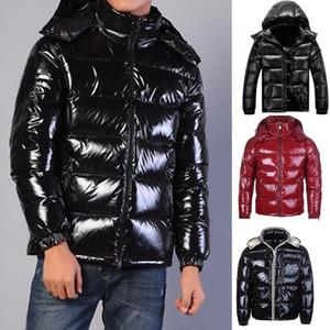 겨울 재킷 파카 남성 클래식 캐주얼 다운 코트 남성 다운 자켓 MAYA 거위 다운 코트 남성 야외 두꺼운 따뜻한 깃털 남자 겨울 코트