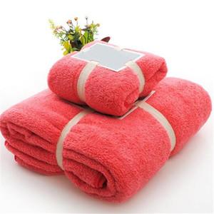 Полотенце Чистого Hearting 2pcs микрофибров Ткань Полотенце Комплект плюшевые ванны для лица Ручного Quick Dry Полотенце для взрослых Детских подарков Ванны для волос