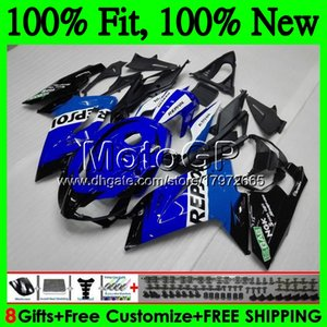 Injection Repsol blue For Aprilia RS4 RSV125 06 07 08 09 10 11 RS-125 0GP22 RS 125 R RS125 2006 2007 2008 2009 2010 2011 Fairing Bodywork
