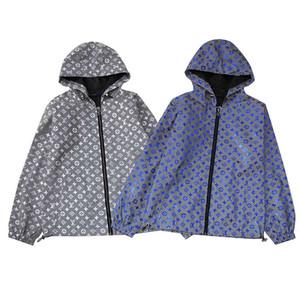 Vêtements de sport de haute qualité pour hommes Dernière Floral Lettre Motif Zipper Medusa Casual Jacket Jacket Men's Jacket
