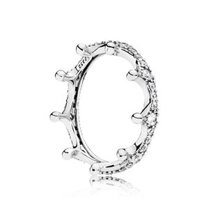 New Arrival in 100 Languages I love you Romantic Designer Rings Fashion P style Magic Crown Diamond Ring
