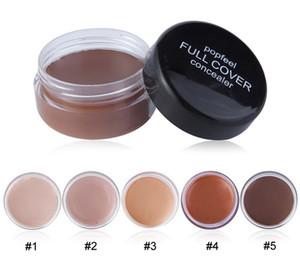 New Face Makeup POPFEEL Cover Concealer Natural Matte Color Single Concealer Primer Have 5 Different Color