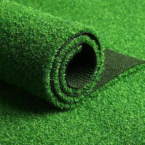 Artificial fábrica barato al por mayor 25-50mm alfombra de césped sintético para el balcón / jardín / campo de césped del campo de fútbol Sports Grass