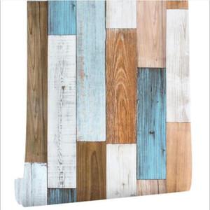 3D 45 centímetros × 600 centímetros de Madeira parede decorativo removível vara e casca de adesivos de parede