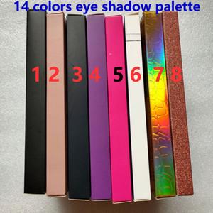 Марка 14 цветов Палитра тени глаза Shimmer Matte тени для глаз Макияж красоты 14 цветов Палитра теней HOT