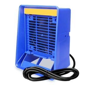220V de la soldadura de humo filtro absorbedor removedor Extractor de aire del ventilador para industury Elimina humo de soldadura Gas en Posición Vertical