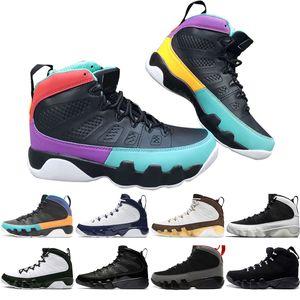 2019 Yeni 9 9 s Rüya Yapmak UNC Paspas Melo Erkek Basketbol Ayakkabıları LA OG Uzay Reçel erkekler Antrasit Siyah Getirdi spor sneakers tasarımcı boyutu 7-13