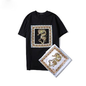 Mens Women Loose T Shirt Contrast Patchwork Tees Letters Print Casual Mens Shirts Fashion Men Top Shirt Tee Size S-2XL