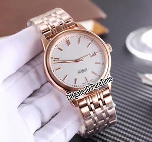 Nueva familia Ingenieur IW323310 de oro rosa Esfera Blanca Miyota automático del reloj para hombre del acero inoxidable de los relojes baratos 248b2